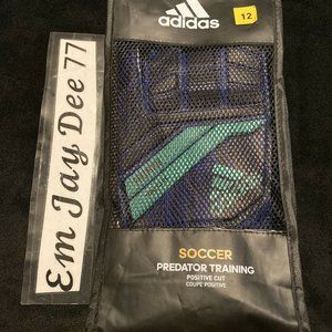NWT Adidas Predator Training Gloves - Size 12
